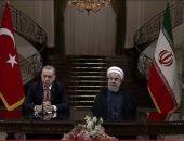 أردوغان وروحانى يتفقان على مواصلة التعاون مع روسيا بشأن سوريا
