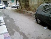 أهالى شارع مسجد الفقى بالإسكندرية يشكون وضع أصحاب المحلات حواجز حديدية