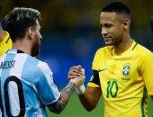 البرازيل تواجه الأرجنتين 30 مارس فى تصفيات المونديال