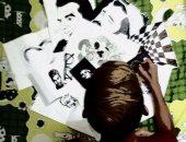 قارئة تشارك بصور تبرز مهارتها فى رسم بورتريهات بالقلم الرصاص والألوان