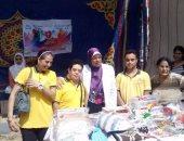 معرض لمنتجات المرأة المعيلة وذوى الإعاقة بالدقهلية بمناسبة احتفالات أكتوبر
