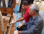 مشرف المتحف الكبير: عجلة توت عنخ آمون الثانية مكونة من 12 قطعة