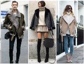 اعرفى إيه هو الـ shearling jacket وإزاى تلبسيه بطرق مختلفة فى الخريف