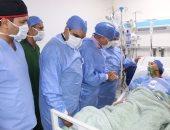 محافظ جنوب سيناء يطمئن على أول جراحة قلب مفتوح بمستشفى شرم الشيخ