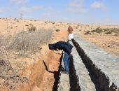 مجلس مدينة نخل يستعد لمواجهة أى سيول محتملة بوسط سيناء