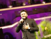 تامر حسنى يطالب أحمد حسن بغناء دويتو معه.. والصقر يرد: أنا جاهز