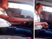حبس سائق ميكروباص بعد تداول فيديو له يتعاطى الحشيش على الدائرى