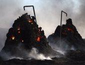 ننشر صور تدمير داعش لآبار النفط فى مدينة الحويجة قبل سيطرة الجيش العراقى