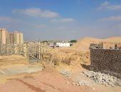 """إنشاء أول أعمدة لعمارتين بمشروع """"معاً"""" لتطوير العشوائيات بمدينة السلام"""
