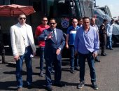 بالصور.. مدير أمن الإسكندرية يتفقد التمركزات الأمنية بطريق استاد برج العرب