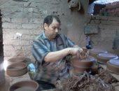"""بيان لـ""""الحرف اليدوية"""": توقف 150 ورشة عن العمل بقرية الفواخير بسبب الأفران"""