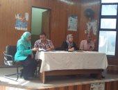 تعليم بنى سويف يناقش معوقات الانتهاء من صيانة 54 مدرسة
