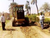 بالصور.. رفع 35 طن تراكمات وأتربة ونظافة شوارع بمدينة طهطا