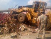 إزالة 400 حالة تعد على أملاك الدولة والأراضى الزراعية ونهر النيل فى 9 محافظات