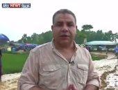 بالفيديو..سمير عمر ينقل معاناة لاجئى الروهينجا فى مخيمات بنجلاديش