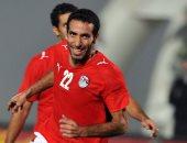 محمد أبو تريكة يظهر فى مهرجان اعتزال حسام غالي