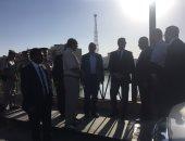 """بالصور.. وزير الرى ومحافظ أسيوط يتفقدان """"ممشى أهل مصر"""" بالترعة الإبراهيمية"""