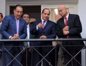 الرئيس يجتمع بعدد من الوزراء والمسئولين لمتابعة زيارته للعاصمة الإدارية