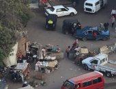 فوضى التكاتك والباعة الجائلين تزعج أهالى شارع حمد بمنطقة فيصل