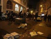 بالصور.. اندلاع أعمال شغب فى باريس بعد حبس متظاهرين حرقوا سيارة شرطة