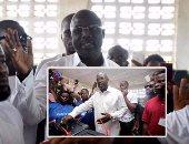 """""""جورج ويا"""" يتصدر نتائج الجولة الأولى للانتخابات الرئاسة فى ليبيريا"""
