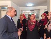 رئيس جامعة كفر الشيخ يتفقد المرحلة الأخيرة لتسكين الطلاب بالمدن الجامعية