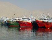 توقف حركة الصيد فى كفر الشيخ بسبب سوء الأحوال الجوية