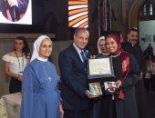 محافظ الإسكندرية يشهد حفل تخريج الدفعة ١٢٣ لطالبات مدرسة نوتردام دي سيون