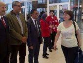 بالصور.. مطار شرم الشيخ يستقبل أول رحلة منتظمة من الدنمارك