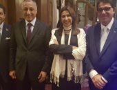 بالصور.. اتحاد بنوك مصر يقيم حفل استقبال بواشنطن بحضور طارق عامر