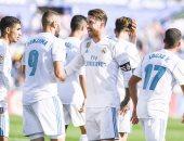 18 لاعباً فى قائمة ريال مدريد لمواجهة لاس بالماس بالدورى الإسبانى