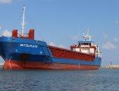 بالصور.. محافظ كفر الشيخ يستقبل سفينة إنجليزية تنقل محول كهربائي لمحطة البرلس