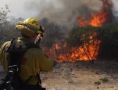 استمرار الحرائق فى ولاية كاليفورنيا الأمريكية وإجلاء آلاف السكان