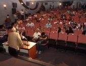 بالصور.. بدء المؤتمر الصحفى الخاص بالدورة 21 من المهرجان القومى للسينما