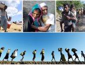 استمرار الهروب الجماعى لمسلمى الروهينجا من ميانمار إلى بنجلاديش