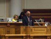 ننشر كلمة على عبد العال أمام الاتحاد البرلمانى الدولى.. رئيس البرلمان من روسيا: أغلب ضحايا الإرهاب من المسلمين.. وقدمنا نموذجاً يُحتذى به فى استيعاب أبناء الأقطار المجاورة.. ونقدر جهود موسكو فى مكافحة الإرهاب