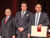 تكريم الحاصلين على جوائز الدولة فى احتفالية بجامعة القاهرة
