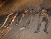 المتحدث العسكرى ينشر صور الإرهابيين المقتولين بمنطقة القواديس بالعريش