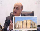 """تخصيص 52 فدانا بالقاهرة الجديدة لصالح """"تعاونيات البناء"""" لإقامة مجتمع عمرانى"""