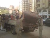 حملات مكبرة بنطاق أحياء المنطقة الجنوبية بالقاهرة لإزالة الإشغالات