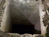 خد بالك.. حفرة مفتوحة على طريق الواحات بالقرب من مول مصر