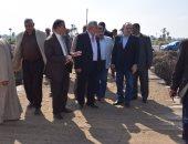 بالصور.. محافظ بنى سويف يطالب بإعداد خطة للإستفادة من مبانى الدولة غير المستغلة بالقرى