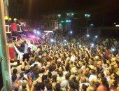 بالصور.. الآلاف فى كفر الشيخ يودعون شهيدى العمليات الإرهابية بسيناء