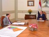 الرئيس يوجه بمواصلة العمل على تشجيع الاستثمار بمنطقة قناة السويس
