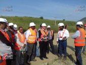 ننفرد بنشر صور زيارة وزراء مياه مصر والسودان وإثيوبيا لموقع سد النهضة