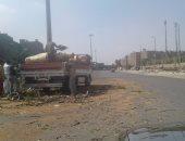 سكان النزهة يتضررون من مذبحة قطع الأشجار بالشوارع