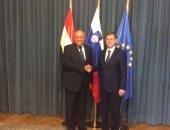 شكرى لرئيس وزراء سلوفينيا:نثمن موقفكم الداعم لمصر داخل الاتحاد الأوروبى
