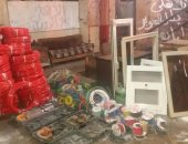 ضبط ربة منزل تقود تشكيلا عصابيا لسرقة الأسلاك الكهربائية بمدينة بدر