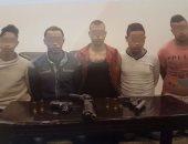بالصور.. حبس 5 أشخاص استدرجوا سائقا وقتلوه بسلاح نارى فى قليوب