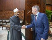 الإمام الأكبر يستقبل السفير الكندى الجديد لدى مصر